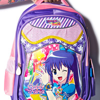 Hollywood Mirror Anime Girl Backpack