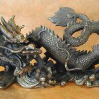 Feng Shui Emporium: Brass Dragon...... Pair or Single