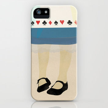 Alice In Wonderland iPhone Case by Magicblood | Society6