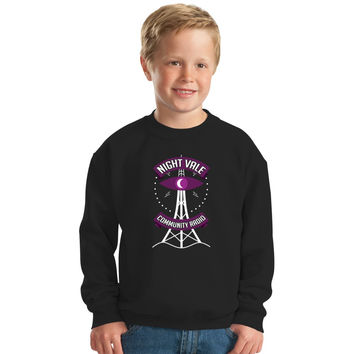 Night Vale Community Radio Kids Sweatshirt