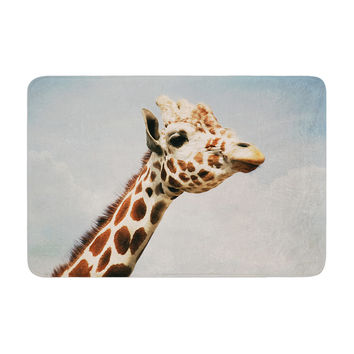 "Angie Turner ""Giraffe"" Animal Memory Foam Bath Mat"