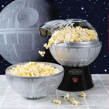 Star Wars Death Star Hot Air Popcorn Maker with Bowl