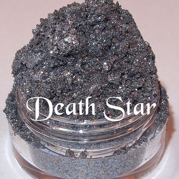 DEATH STAR New Release Limited Edition For Autumn Galactic Silver Pink Green Silver Glitter Eyeshadow Pigment Lumikki Cosmetics Shadow