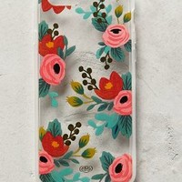 Lucere Floral iPhone 6 Case by Rifle Paper Co. Clear One Size Tech Essentials