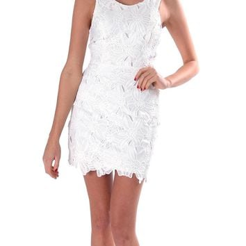Share My Secret Lace Dress - White