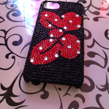 Minnie Mouse Inspired Bow Phone Case