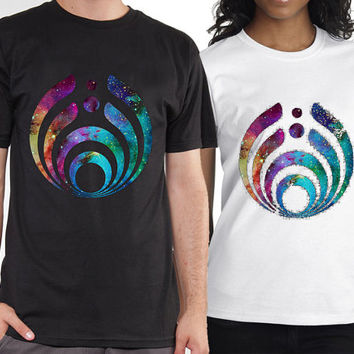 Bassnectar Logo tshirt for mens and womens heppy feed