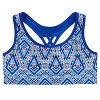 MEDALLION SPORTS BRA | GIRLS DANCEWEAR & GYMNASTICS ACTIVEWEAR | SHOP JUSTICE