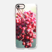 Casetify iPhone 7 Classic Grip Case - Red berries by littlesilversparks