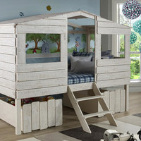 Tanner's Twin Size Treehouse Loft Bed