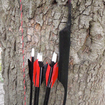 Mini Minion youth starter bow 8lb at 16 Hickory by WarpathArchery
