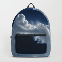 Sky, clouds and lights. Backpacks by VanessaGF