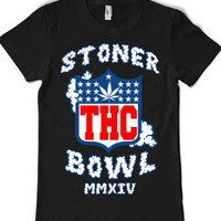 Black T-Shirt | Funny Football Weed Shirts