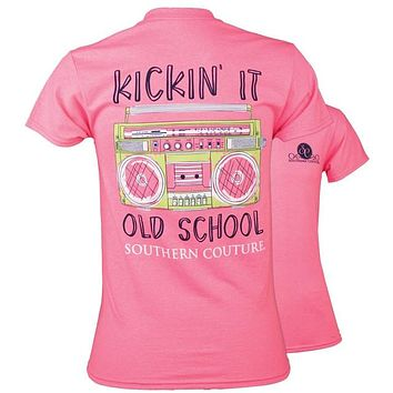 Southern Couture Preppy Kickin It Old School T-Shirt