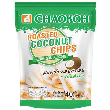 Chaokoh Original Roasted Coconut Chips 1.4 oz. (40g)