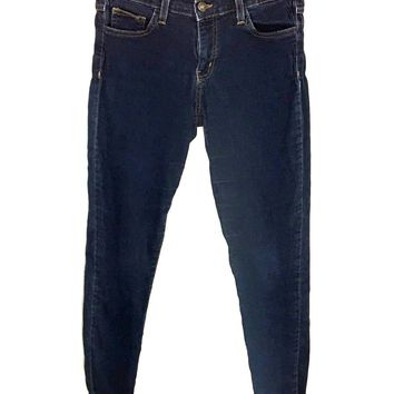 Flying Monkey Jeans Style L8273 Dark Wash Jeggings Womens Size 26 Actual 27x31 - Preowned