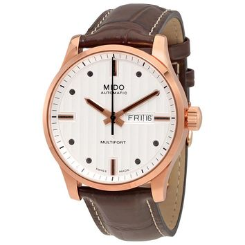 Mido Multifort Automatic Silver Dial Mens Watch M005.430.36.031.80