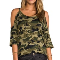 Lovers + Friends for REVOLVE Lizzie Top in Green