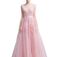 Long Formal Formal Dress Evening Party Prom Gown