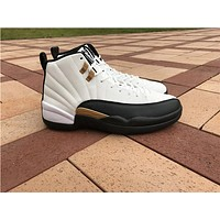 "Air Jordan 12 ""Chinese New Year"" while black Basketball Shoes 41-47"