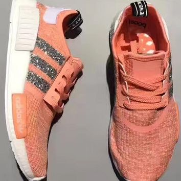 shosouvenir : Adidas NMD individuality Sequins Fashion Trending Women Leisure Running Sports Shoes