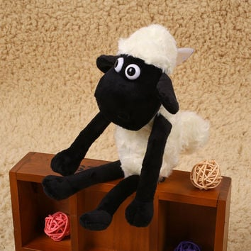 1Pcs Shaun The Sheep Lamb Shape Stuffed Plush Doll Gifts Decor For Kid Children