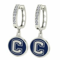 Buy Connecticut Huskies UCONN Jewelry and Enamel Earrings. Free Shipping