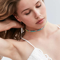 Delicate Beaded Choker Necklace Set | Urban Outfitters