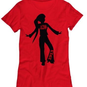 That Delta Sigma Theta Swag Top