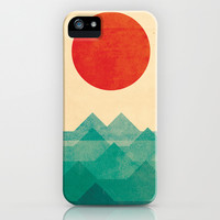 The ocean, the sea, the wave iPhone & iPod Case by Budi Satria Kwan