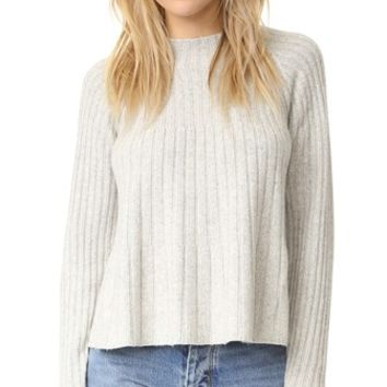 Swing Ribbed Sweater