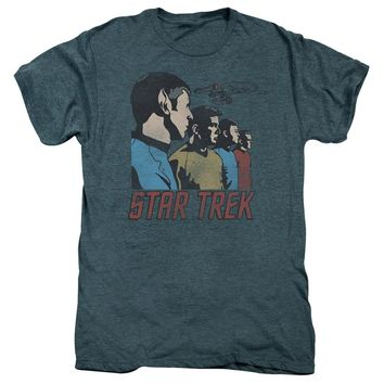 Premium Star Trek Federation Men Adult T-Shirt