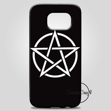 Pentagram Symbol Goth Metal Wiccan Magic Samsung Galaxy Note 8 Case | casescraft