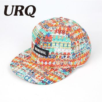Trendy Winter Jacket URQ Dancing Hip Hop Cap for Kids Spring Men Women Outdoor Hiphop Caps Hat Printing Snapback Hats adjustable Fashion Style ZZ4063 AT_92_12
