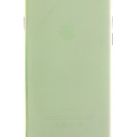 Green Frosted Transparent Soft Case for iPhone 6