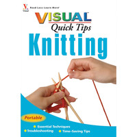 Wiley Publishers-Visual Quick Tips Knitting