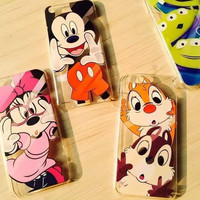 cute minnie mickey mouse Squirrels aliens phone cases For Apple iphone 6