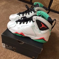 Air Jordan 7 Retro 30th GG GS 705417-138 Men's Size 7.5/ Women's Size 9.5