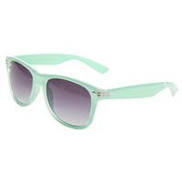 Glossy Iced Wayfarer Sunglasses | Wet Seal