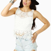 Valley Girl Crochet Top