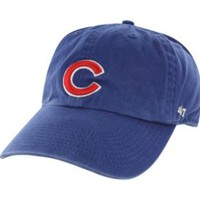 '47 Men's Chicago Cubs Clean Up Royal Adjustable Hat| DICK'S Sporting Goods