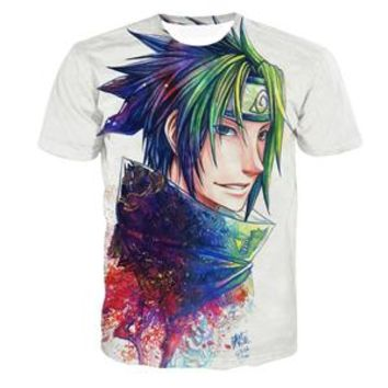 Anime T-shirt graphics PLstar Cosmos Newest Style Galaxy 3D t shirt Classic Anime Naruto t shirts tees kyuubi Uzumaki Naruto Prints 3d tshirts tops AT_56_4