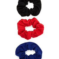 FOREVER 21 Classic Scrunchie Set