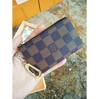 Free shipping-LV Classic Women's Short Mini Cardet Wallet