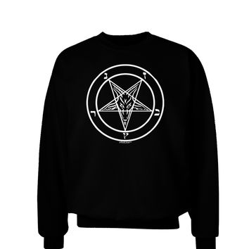 Sigil of Baphomet Adult Dark Sweatshirt by