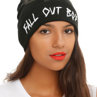 Fall Out Boy Logo Watchman Beanie