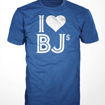 I Heart BJs T-Shirt - funny toronto blue jays tee shirt, mens, womens, gift, baseball, sports, humor, mlb, blow jobs, canada day