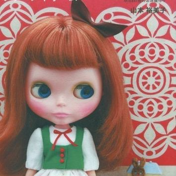 Doll Coordinate Recipe Vol.8 - Yumiko Yamamoto - Japanese Sewing Pattern Book for Doll Clothes - Blythe, Momoko, etc... - B133