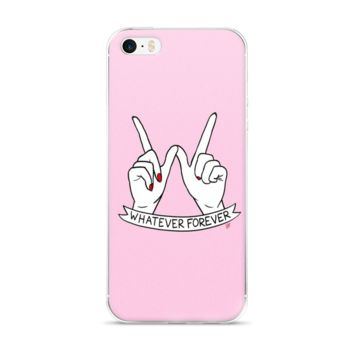 Whatever Forever iPhone 5/5s/Se, 6/6s, 6/6s Plus Case