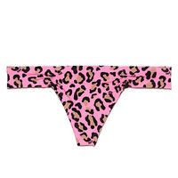 Ruched Thong Panty - PINK - Victoria's Secret
